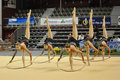 Rythmic gymnastic, canada Stock Photo