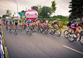 Rzeszow poland july cycling race tour de pologne stage th krakow wins thor hushovd Stock Image