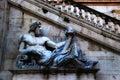 Rzym Campidoglio - (Kapitoliński Wzgórze) Zdjęcia Royalty Free