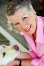 image photo : Smiling Senior