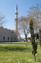Süleymaniye Mosque garden Royalty Free Stock Photo