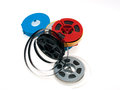 S 8mm reels film Royalty Free Stock Images