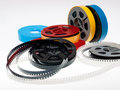 s 8mm reels film Royalty Free Stock Photo