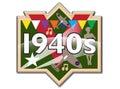 1940s badge / icon