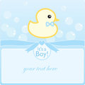It's a boy! Royalty Free Stock Photos