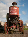 S buffalo pitts horsepower tractor old rusty on display at the tillamook french cheese factory in oregon photo taken on november Royalty Free Stock Photos