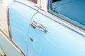 1950's Chevy BelAir door handles Royalty Free Stock Photo