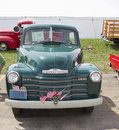 1950's Chevy Pickup Truck Royalty Free Stock Photo