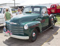 1950's Chevy Pickup Truck Side View Royalty Free Stock Photo