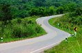 The S curve road Royalty Free Stock Photo