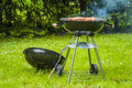 It s grilling time summer tasty grilled meat and vegetables Royalty Free Stock Images