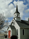 S historic church st luke episcopal has been a landmark in weiser idaho since the Royalty Free Stock Images