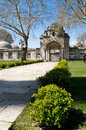 Süleymaniye Mosque garden Royalty Free Stock Photo