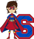 S is for Superhero
