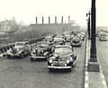 1940s traffic congestion in New York City Royalty Free Stock Photo
