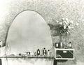 1930s vanity set Royalty Free Stock Photo