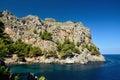 Sa calobra majorca one of the most beautifull place of the island Royalty Free Stock Photo