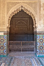 Saadian tombs in marrakesh central morocco north africa Royalty Free Stock Photography