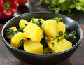 Saag Aloo Royalty Free Stock Photo