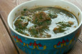Saag Gosht Royalty Free Stock Photo