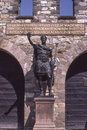 Saalburg Roman Fort, Taunus, Germany Royalty Free Stock Photo