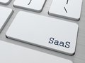 SAAS.  Information Technology Concept. Royalty Free Stock Photo