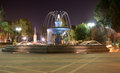 Sabir square fountain Royalty Free Stock Images