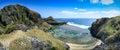 Sabtang Island Overlooking Royalty Free Stock Photo