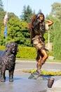 Sacagawea Royalty Free Stock Photo