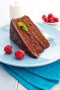 Sacher cake Stock Images