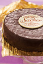Sacher Torte Royalty Free Stock Photo