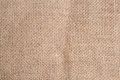 Sackcloth. Royalty Free Stock Photo