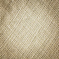 Sackcloth texture close up cream color background Stock Images