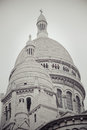 Sacré cœur the basilica of the sacred heart of paris Stock Photography
