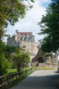 Sacra di san michele middle ages abbey in torino ruins piemonte attraction Stock Photo