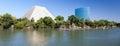 Sacramento california usa august new office block in sacr on Stock Photography