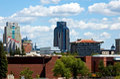 Sacramento skyline Stock Images