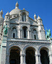Sacre ceure cathedral in paris detail of france Royalty Free Stock Photography