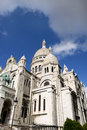Sacre-Coeur Royalty Free Stock Photo