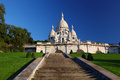 Sacre-Coeur Basilica in Paris Stock Image