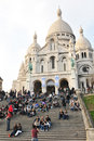 Sacre-Coeur Basilica in Paris, France Royalty Free Stock Photo