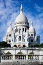 Sacre-Coeur Basilica. Paris, France. Stock Photo