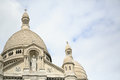 Sacre coeur basilica of the sacred heart montmartre paris Royalty Free Stock Photos