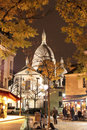 Sacre Coeur Basilique, Paris, France Royalty Free Stock Photo
