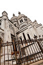 Sacre Coeur de Montmartre Royalty Free Stock Photography