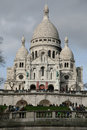 Sacre coeur france de paris Photos stock