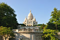 SACRE-COEUR, MONTMARTRE, PARIS Stock Photo