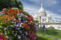 Sacre coeur in paris the basilica of the sacred heart of commonly known as sacré cœur basilica is a roman catholic church and Stock Photos