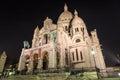 Sacre Coeur, Paris Royalty Free Stock Photo
