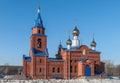 Sacred Church of St. George. Zavodoukovsk. Russia Stock Image